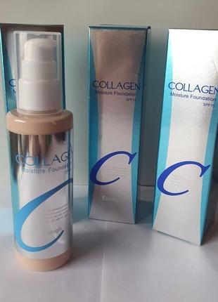 Тональный крем collagen moisture foundation.