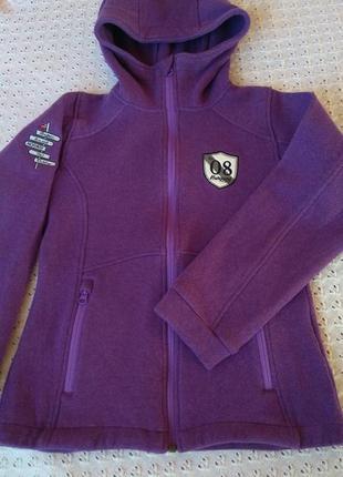 Термокофта bergans з мериносовою вовною светр термо теплий