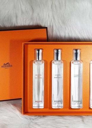Hermes подарочный набор мини парфюмерии