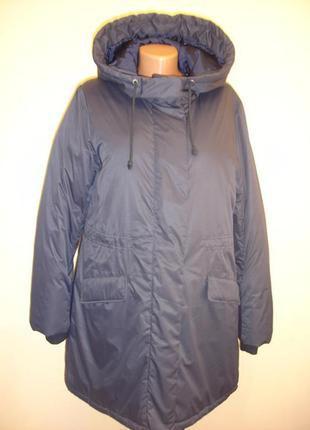 """Демисезонное пальто с капюшоном """"h&m"""" 50 р"""