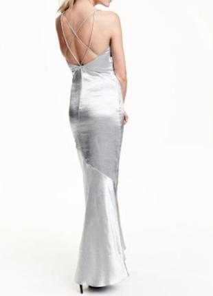 Вечернее платья в пол h&m