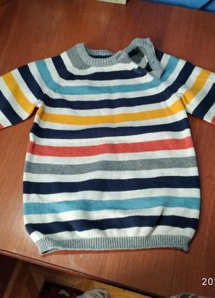 Детский свитерок натуральный.очень красивый.