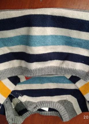 Детский свитерок натуральный.очень красивый.4 фото