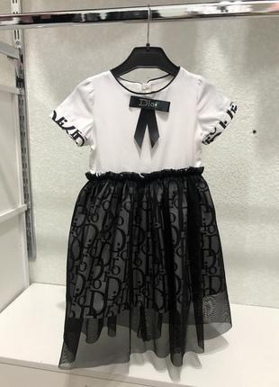 Плаття dior для дівчинки