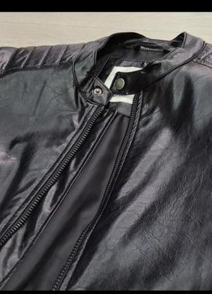 Кожанка куртка косуха  мужская качественная