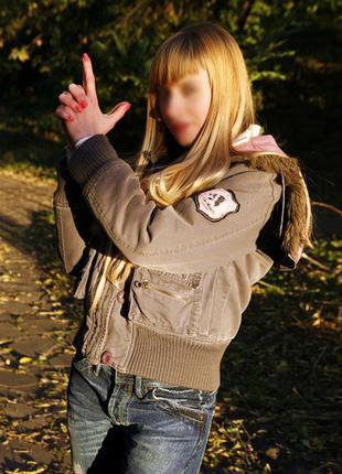 Джинсовая куртка на синтепоне