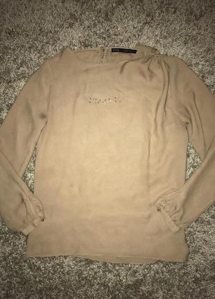 Блуза рубашка zara размер s