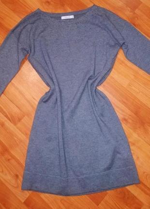 Тепле плаття прямого крою