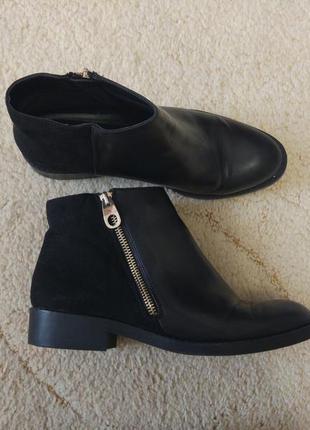 Осенние ботинки pull&bear