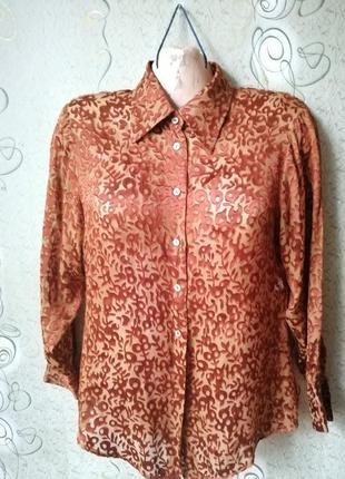 Liberty шёлковая блуза.