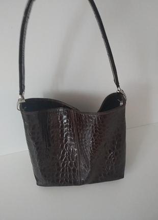 Кожаная сумка .италия