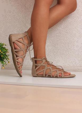 Босоножки сандалии гладиаторы, бренд tu