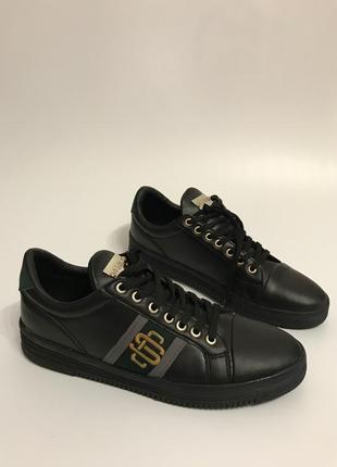 Мужские туфли кеды кроссовки демисезонные весна осень эко кожа