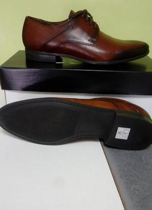 Туфли. рыжие. классические на шнурках