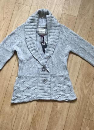 Тёплый свитер на пуговицах италия fraconina