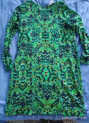 Натуральна віскозна сукня від h&m у стані нової