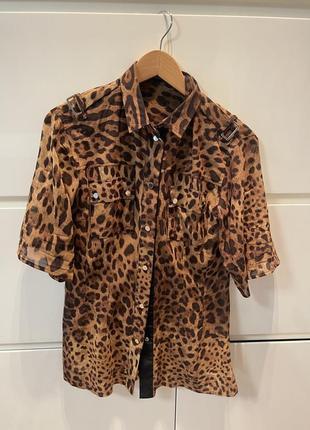 Dolce gabbana оригинал шелковая блуза