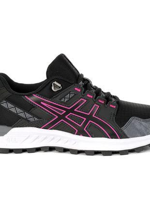 Жіночі кросівки asics gel-citrek чорний / рожевий