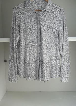 Рубашка вискоза блузка 81758