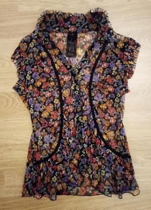 Блуза с коротким рукавом next