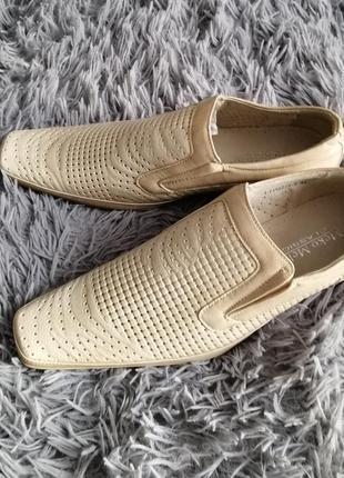 Туфли классические летние