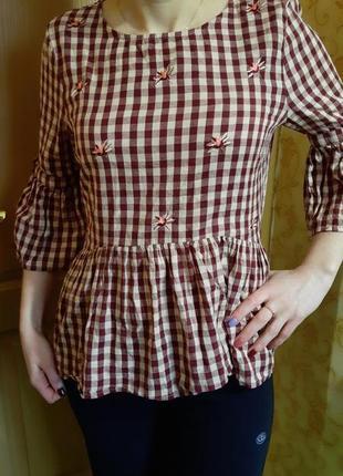 Блузка 10 размер очень прикольная