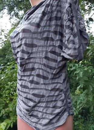 Экстравагантная удобная блуза от люксового немецкого бренда beate heymann