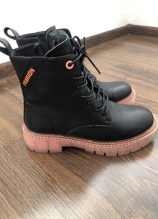 Шкіряні черевики весна!