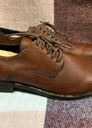 Мужские кожаные туфли ralph harrison