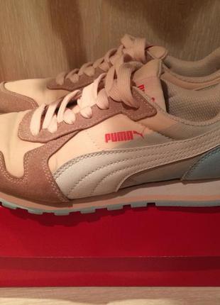 Кроссовки puma, розовые кроссовки