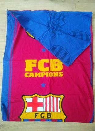 Постільна білизна/ підодіяльник fcb barcelona champion /барселона/оригінал!