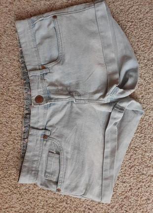 Стильные джинсовые шорты 10-12-14р
