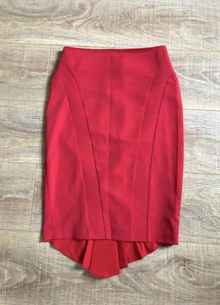 Красная юбка карандаш alkis exclusive