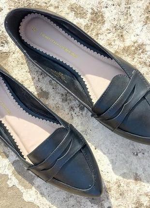 Базовые балетки чешки туфли dorothy perkins