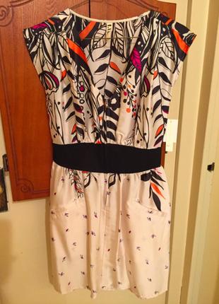 Новое шелковое платье фирмы hype размер s