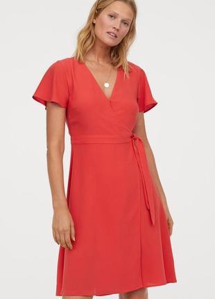 Легке літнє плаття на запах h&m сток