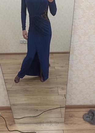 Продаю длиное вечернее платье
