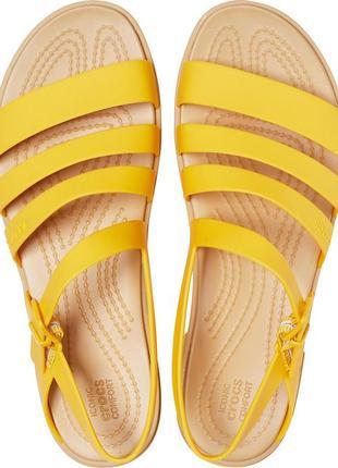 Крокс сандалии босоножки crocs tulum sandal