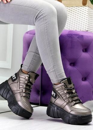 36 р,36.5 р,37 р кроссовки сникерсы женские на платформе шикарное качество дешево