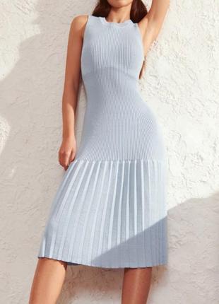 Новинка роскошное универсальное платье из трикотажа