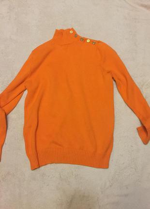 Яркий хлопковый свитер
