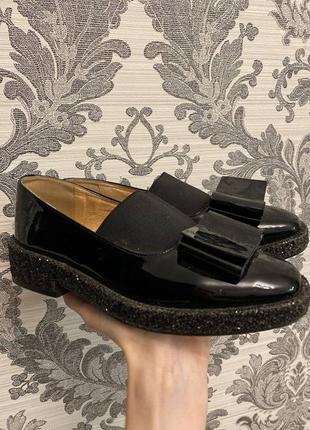 Туфли лаковые vitto rossi