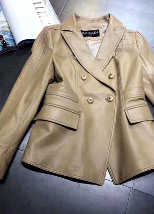 Кожаный пиджак 🔥sale🔥