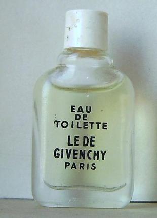 Givenchy le de givenchy - 3 мл. оригінал. вінтаж