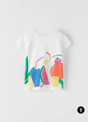 Футболка на девочку зара, футболка , футболка для девочки zara