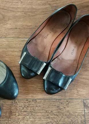 Балетки туфли натуральная кожа лодочки