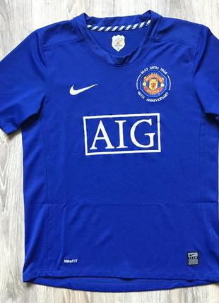 Подростковая футбольная джерси nike manchester united 2007 boys