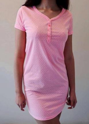 Ночная рубашка neon pink love to lounge primark
