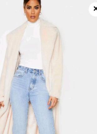 Стильное пальто в пол на высокую девушку