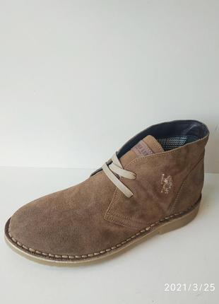 Замшеві італійські туфлі